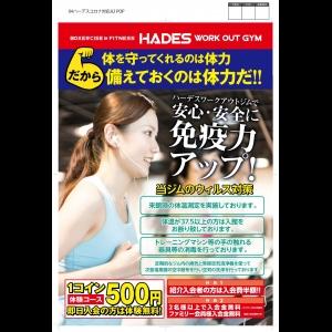 広島中区キックボクシングジム HADES WORK OUT GYM(ハーデスワークアウトジム) 最新情報:2020/04/11「広島キックボクシングハーデスジム体験」
