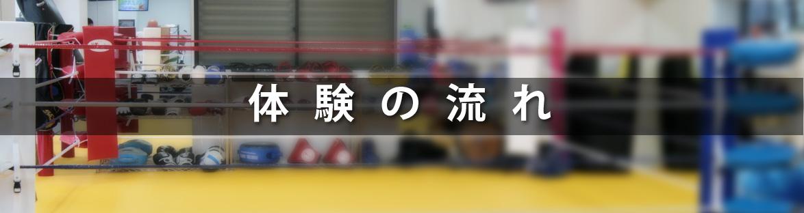 広島中区キックボクシングジム HADES WORK OUT GYM(ハーデスワークアウトジム):初めての方へ 体験の流れ